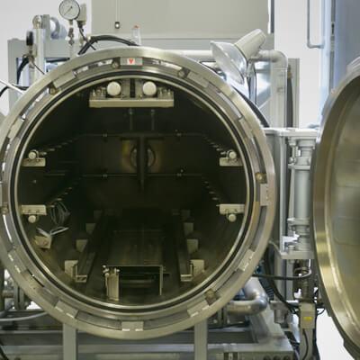 レトルト殺菌装置のイメージ画像